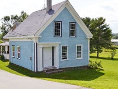 Dresden, Maine  This ca. 1830, Greek Revival home sits on two sprawling acres in the beautiful state of Maine. What's not to love?  For more information and photos, visit Maine Real Estate Information System, Inc..  Asking Price: $50,000  Listed By:Suzanne Lufkin Weiss, Carleton Realty, (207) 443-3388