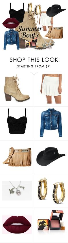 """""""My Style: Cowgirl"""" by harls-dance ❤ liked on Polyvore featuring Steve Madden, Dsquared2, STS Ranchwear, Bailey Western, The Bradford Exchange and Benefit"""