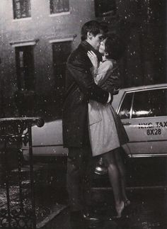Goodbye kiss.