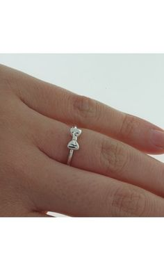 Stolen Girlfriends Club Baby Bow ring