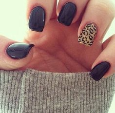 Be bold with your nail design, we love this cheetah print to mix up this style! #myavalon #beauty