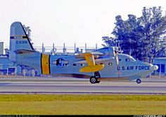 Grumman HU-16B Albatross 51-5306 (cn G-189) Rescue HU-16B of the US Air Force visiting Miami International.