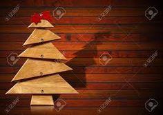 Afbeeldingsresultaat voor houten kerstboom.
