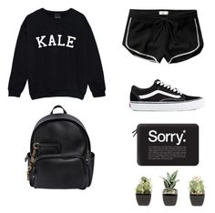 """""""Black and White"""" by ttorres18 on Polyvore featuring Abercrombie & Fitch, Vans, Casetify and Dsquared2"""