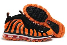 2a511bcc122 Nike Air Max Foamposite One black orange basketball shoes