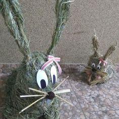 #zające #Wielkanoc #wiosna #dekoracje #ręcznierobione #ozdoby #rabbits #Easter #spring #handmade #decorations #design #DIY