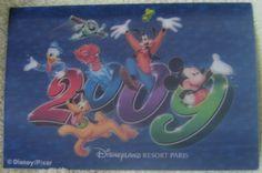Carte postale 2009