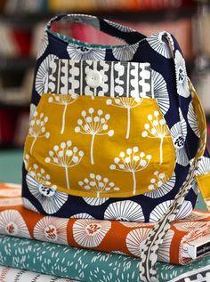 Such a cute little bag. Stitch Lab Pattern Friday – Bucket Bag by Keyka Lou