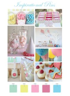Fun candy tables by Torie Jayne