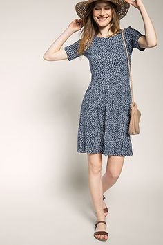New Arrival Cheap Online From China Sale Online Womens MIT Print Dress Esprit l31V9v