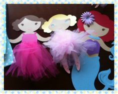 Tutu ballerina...Little mermaid...first birthday