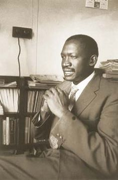 Robert Sobukwe - Robert Sobukwe - Wikipedia African Life, African American History, Pan Africanism, Africa People, Military Special Forces, Human Rights Activists, School Portraits, History Projects, Black African American