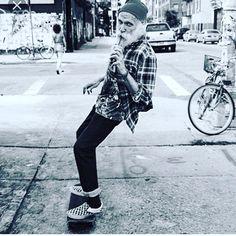 Evergreen skateboarder skate