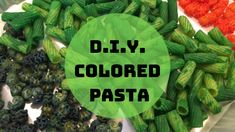 D.I.Y. Colored Pasta