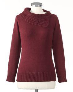 Envelope sweater