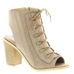 Very Volatile Women's Dapper Heeled Sandal, Taupe, 9 B US >>> To view further, visit