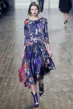 Chloé Fall 2008 Ready-to-Wear Fashion Show - Anna Gushina