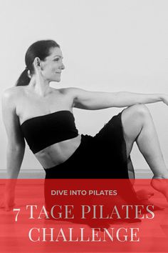 Dive into Pilates - deine 7 Tage Challenge ⋆ Pilatesliebe Yoga Fitness, Fitness Video, Pilates Training, Pilates Challenge, Challenge Me, Fitness Tracker, Workout Bauch, Diving, My Style