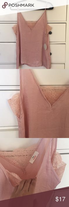 NWT Hummingbird Camisole Inserted Lace Top NWT Hummingbird Camisole Inserted Lace Top. Perfect for any wardrobe!! 🎉🎉 Hummingbird Tops