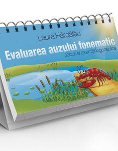 Evaluarea auzului fonematic Plastic Cutting Board, Album, Logo, Logos, Card Book, Environmental Print