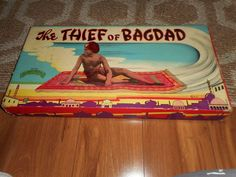 Vintage Thief of Bagdad Board Game Complete Selchow & Righter Bagdad, Vintage Board Games, Vintage Toys, Boards, Baseball Cards, Ebay, Planks, Old School Toys