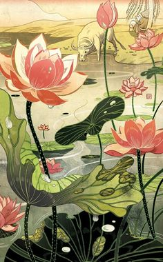 "From ""An Unofficial History of the Confucian Academy"" (Illustration © Victo Ngai 2014)"