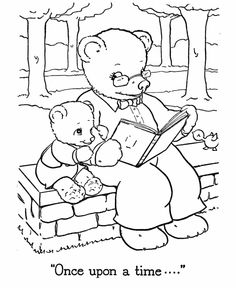 teddy bear coloring pages free printable papa and baby teddy