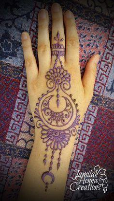 moon and flower henna bright music festival www.jamilahhennacreations.com