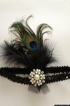 DIY Fascinator: DIY Headband Gatsby Inspired : How To Make A 1920s Headband