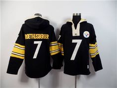 Nike Pittsburgh Steelers #7 Ben Roethlisberger Black Hoody Team Wear, Sport Wear, Ben Roethlisberger, Nhl Jerseys, Nike Nfl, Pittsburgh Steelers, Hoody, Black Hoodie, Sports