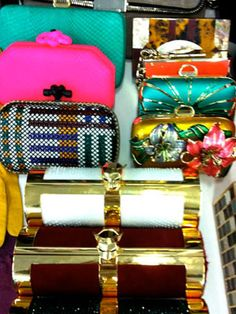 Inside the Cosmo Fashion Closet: Chic clutches