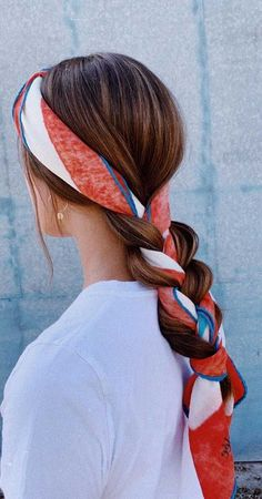 Headband Hairstyles, Cute Hairstyles, Braided Hairstyles, Easy Hairstyle, Bandana Hairstyles For Long Hair, School Hairstyles, Formal Hairstyles, Hairstyle Ideas, Hairstyles With Headbands