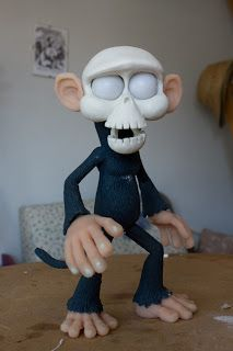 MASCARUCA PRODUCTION BLOG: Monkey in progress. Amazing step by step of this production!