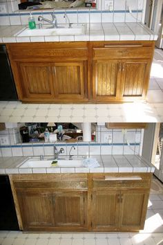 1000 Images About Kitchen Tune Up Cabinet Refacing