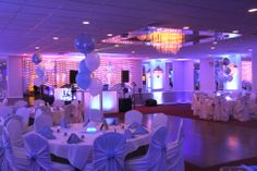 Color Up Lighting at Marconi Manor in Islip