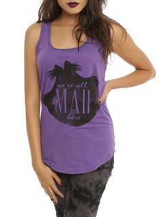 Disney Alice In Wonderland We're All Mad Girls Tank Top from Hot Topic