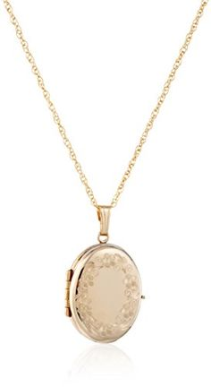 14k Yellow Gold-Filled Engraved Oval… Expensive Whiskey, Fine Jewelry, Women Jewelry, Jewellery, Gold Necklace, Pendant Necklace, Gold Filled Chain, Hand Engraving, Jewelry Trends