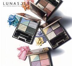 ルナソル 17年春コスメ、「虹」をイメージした鮮やかなアイシャドウやマスカラ | ファッションプレス