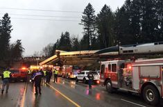 Amtrak train started a formal journey to start a new service from Seattle to Portland, Orlando. At least three people were killed and wounded in a road accident on Monday morning by crossing an overpass to drive on one of the busiest highways in Western Coast. 100.