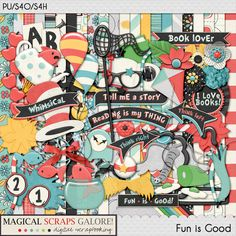 {Fun is Good} Digital Scrapbook Kit by Magical Scraps Galore, available at Gingerscraps, The Digichick and Scraps-N-Pieces  http://www.thedigichick.com/shop/Fun-is-Good-collection.html http://store.gingerscraps.net/Fun-is-Good-collection.html   http://www.scraps-n-pieces.com/store/index.php?main_page=product_info&cPath=66_152&products_id=14061 #magicalscrapsgalore