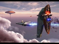 My Free Wallpapers - Star Wars Wallpaper : Slave 1 by Marco Nero