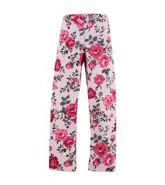essentials royal rose print leggings