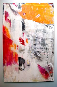 "Saatchi Online Artist: Andres Cuervo; Mixed Media, Painting ""Composicion II / Composition II"""