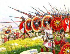 Roman Infantry 4th-5th Century AD
