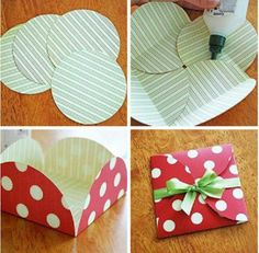 Cute, easy little envelope.  Source: unknown.