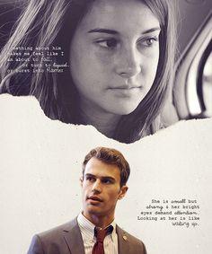 Theo James & Shailene Woodley: Divergent Official Casting: Tobias & Tris perspectives