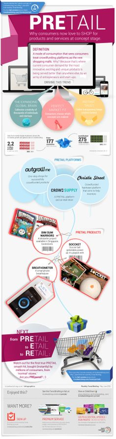 PRETAIL - May/June 2013 Trendwatching briefing --> consumer trends #infographic