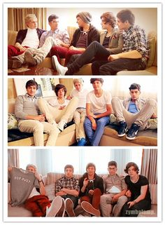 dear one direction, i love the way you sit on couches. that is all.