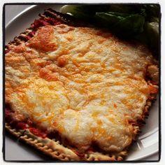 Kosher Matza pizza kosher for Pesach yummm