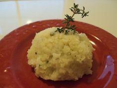 Mashed Cauliflower with Fresh Thyme
